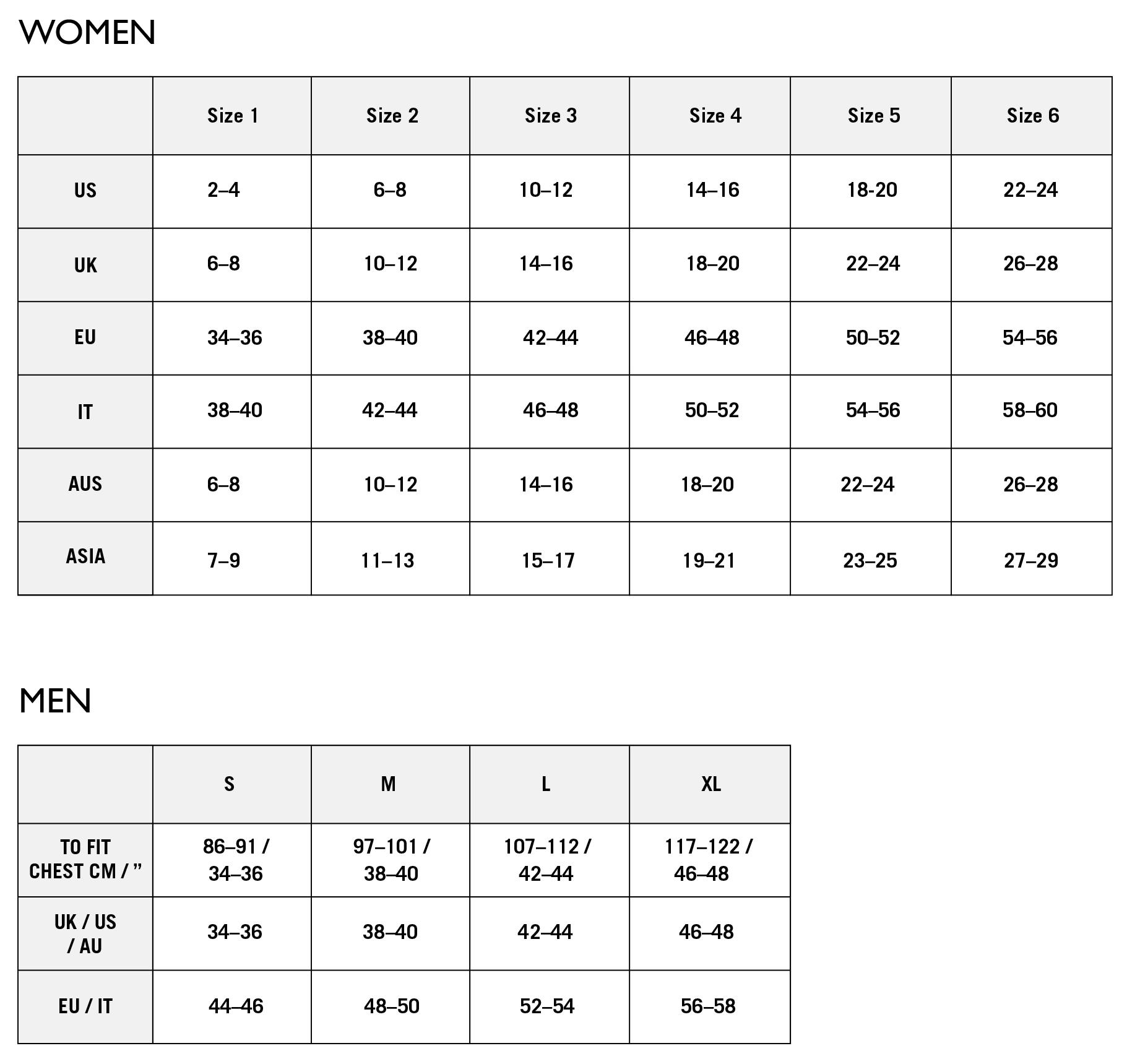 Size guide en