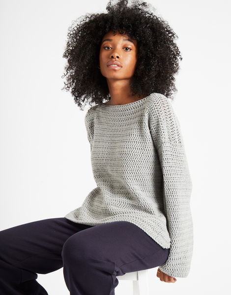 Devotion jumper dovegrey 2