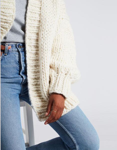 Hero cardigan ivorywhite 3