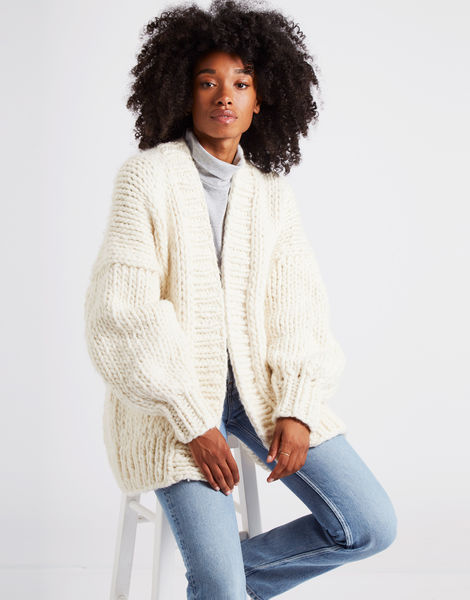 Hero cardigan ivorywhite 4
