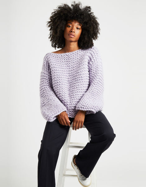 Dreamin jumper lilac 5