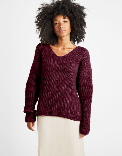 Star sweater sweater 1 fgy margaux red