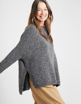 Happy land sweater silverfoxgrey 4