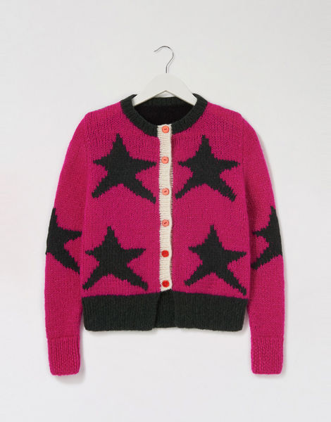 A star is born cardigan pink