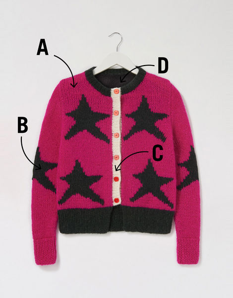 A star is born cardigan %28colour codes%29