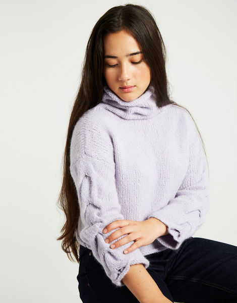 Lady soul sweater lilac 2