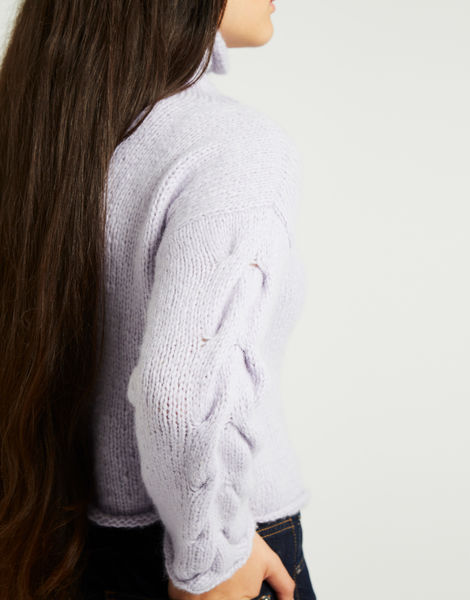 Lady soul sweater lilac 1