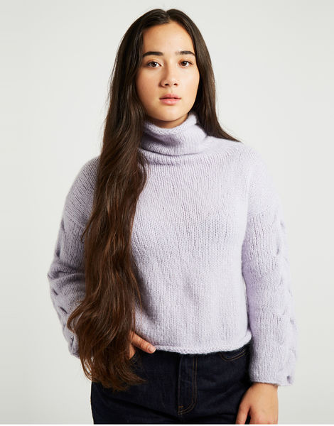 Lady soul sweater lilac 4