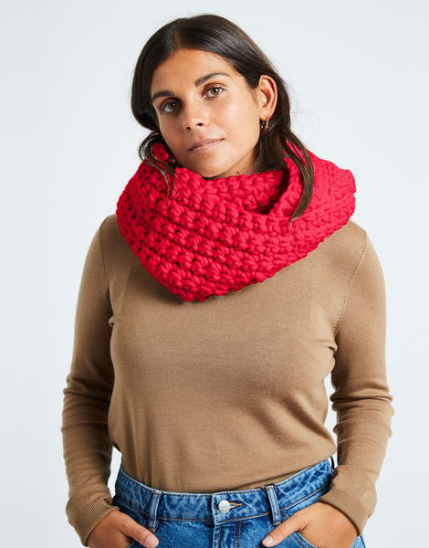 Celebration snood csw candy red