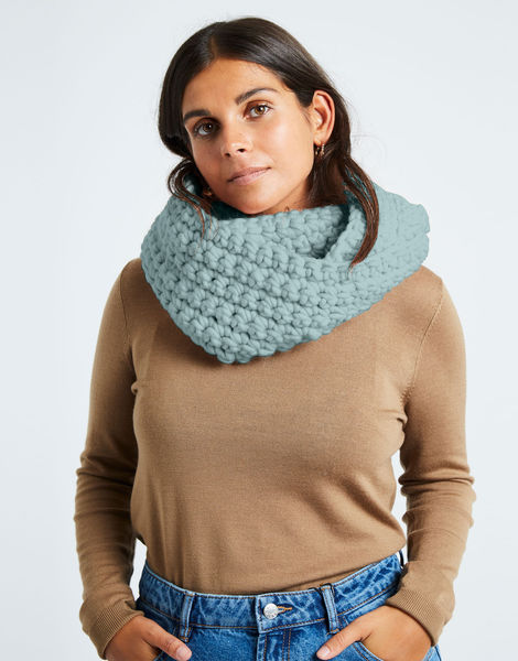 Celebration snood csw duck egg blue