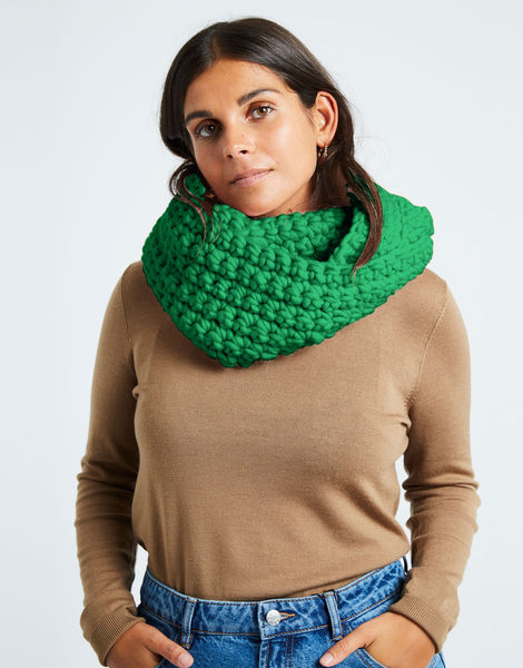 Celebration snood csw emerald green