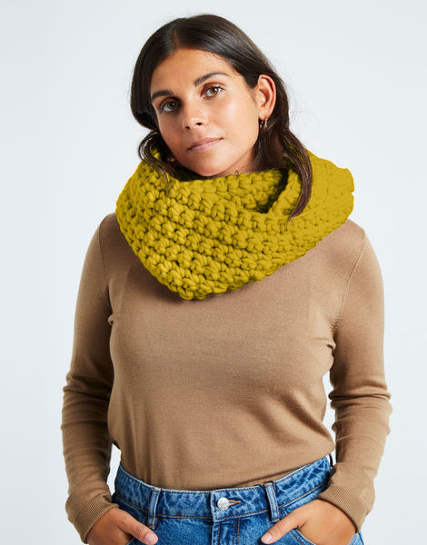 Celebration snood csw moss green