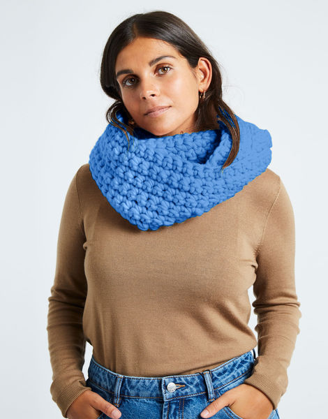 Celebration snood csw cloudy blue
