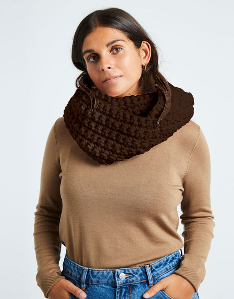 Celebration snood csw wonka brown