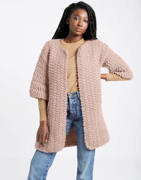Cross country coat csw cameo rose