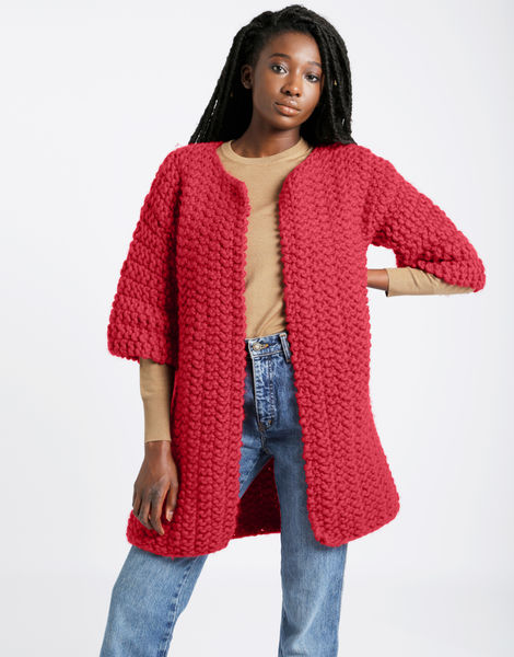 Cross country coat csw candy red