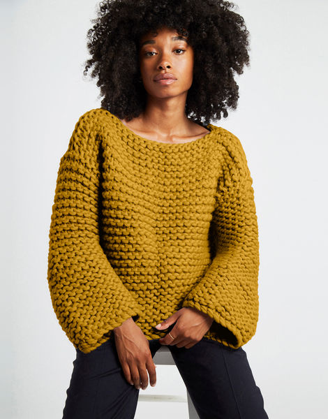 Dreamin jumper csw bronzed olive