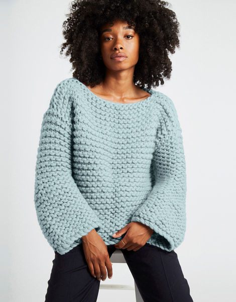 Dreamin jumper csw duck egg blue