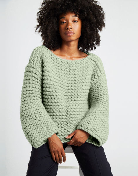 Dreamin jumper csw eucalyptus green