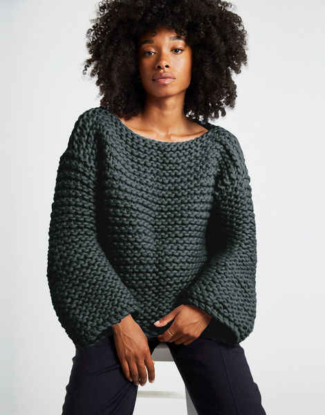 Dreamin jumper csw forest green