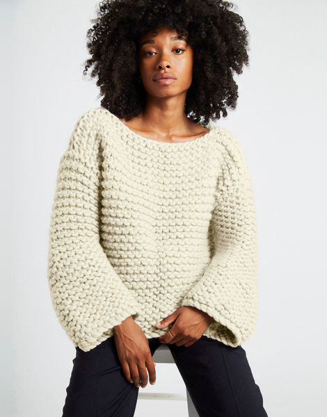 Dreamin jumper csw ivory white
