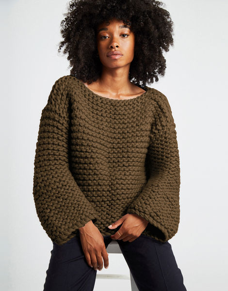 Dreamin jumper csw khaki green