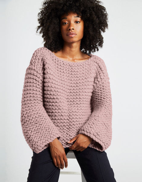 Dreamin jumper csw mellow mauve