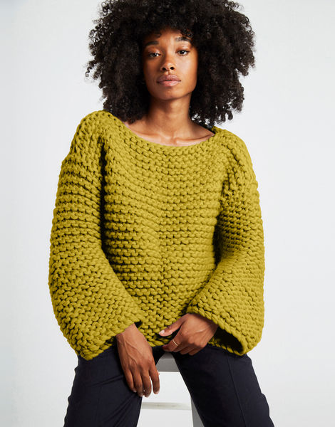 Dreamin jumper csw moss green