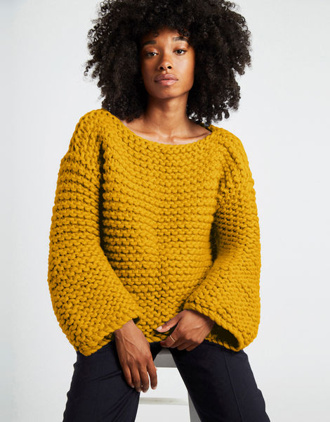 Dreamin jumper csw mustard sally