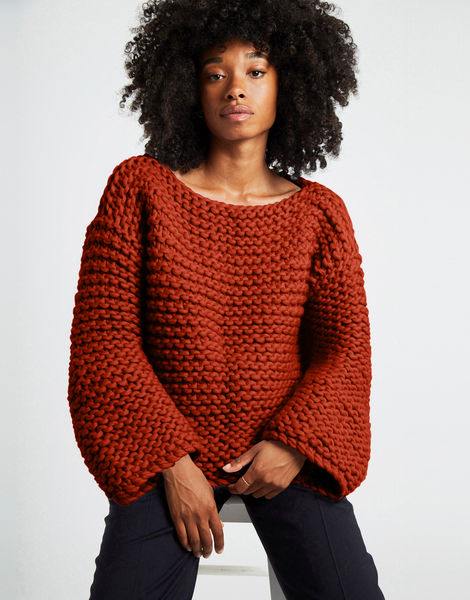 Dreamin jumper csw red ochre
