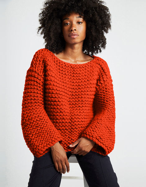 Dreamin jumper csw rusty orange