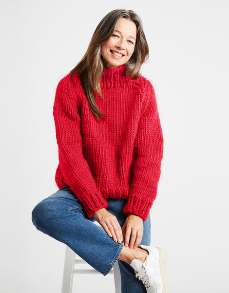 Eden jumper csw candy red