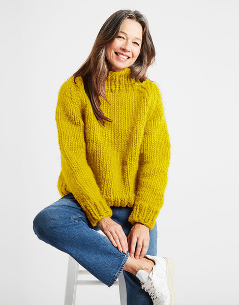 Eden jumper csw big bird yellow