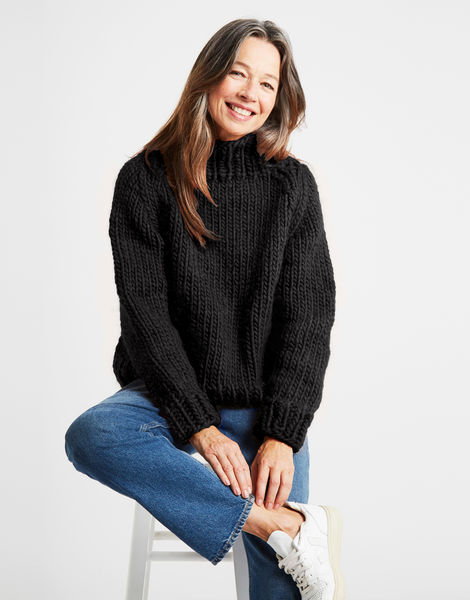 Eden jumper csw charcoal