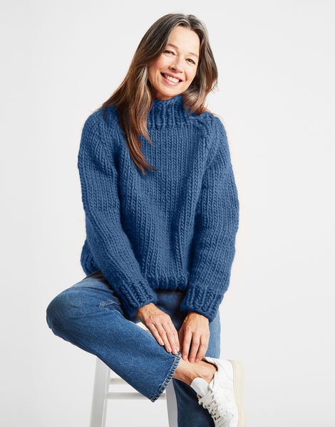 Eden jumper csw dusty denim