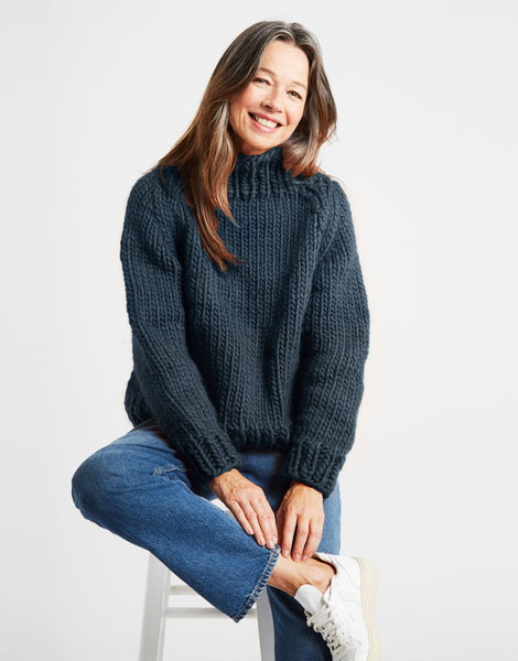 Eden jumper csw eagle grey