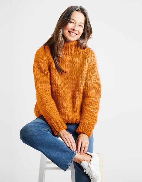 Eden jumper csw fireball orange