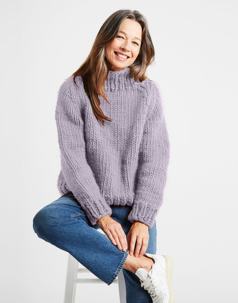 Eden jumper csw lilac powder