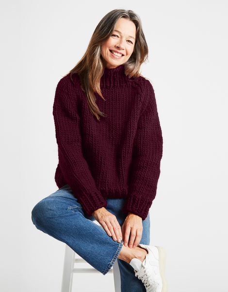 Eden jumper csw margaux red