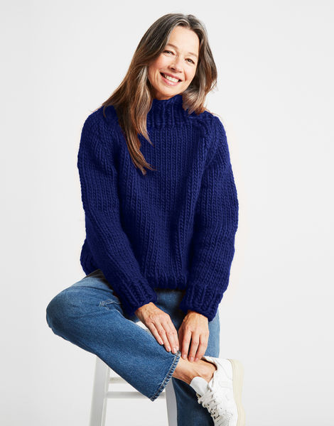 Eden jumper csw zoot suit blue