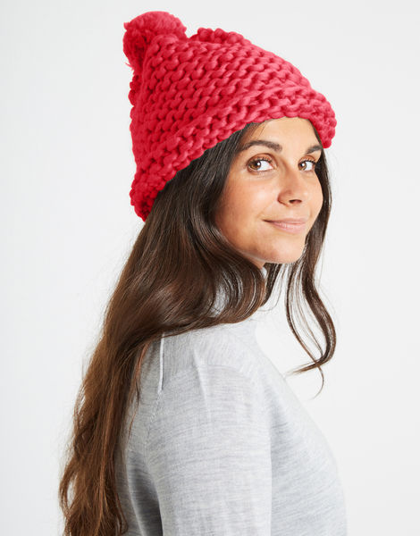 Happy daze beanie csw candy red