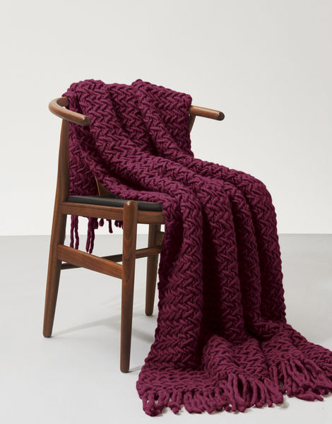 Koselig blanket csw margaux red