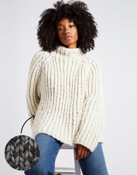 Lightning sweater csw shacklewell grey