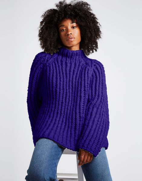 Lightning sweater csw ultra violet