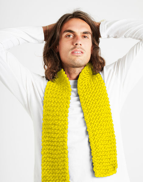 Lilfoxyroxy scarf csw big bird yellow