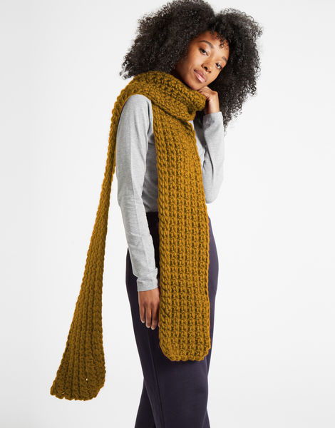 Sweet intuition scarf csw bronzed olive