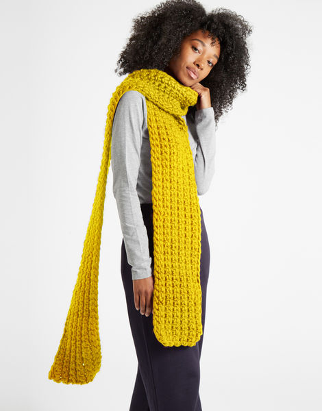 Sweet intuition scarf csw big bird yellow