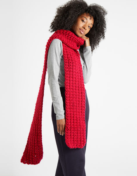 Sweet intuition scarf csw candy red