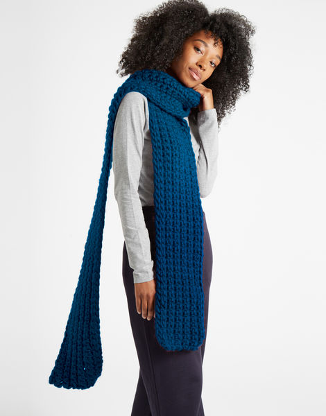 Sweet intuition scarf csw curasao blue