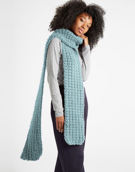 Sweet intuition scarf csw duck egg blue